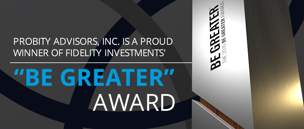 Be Greater Award